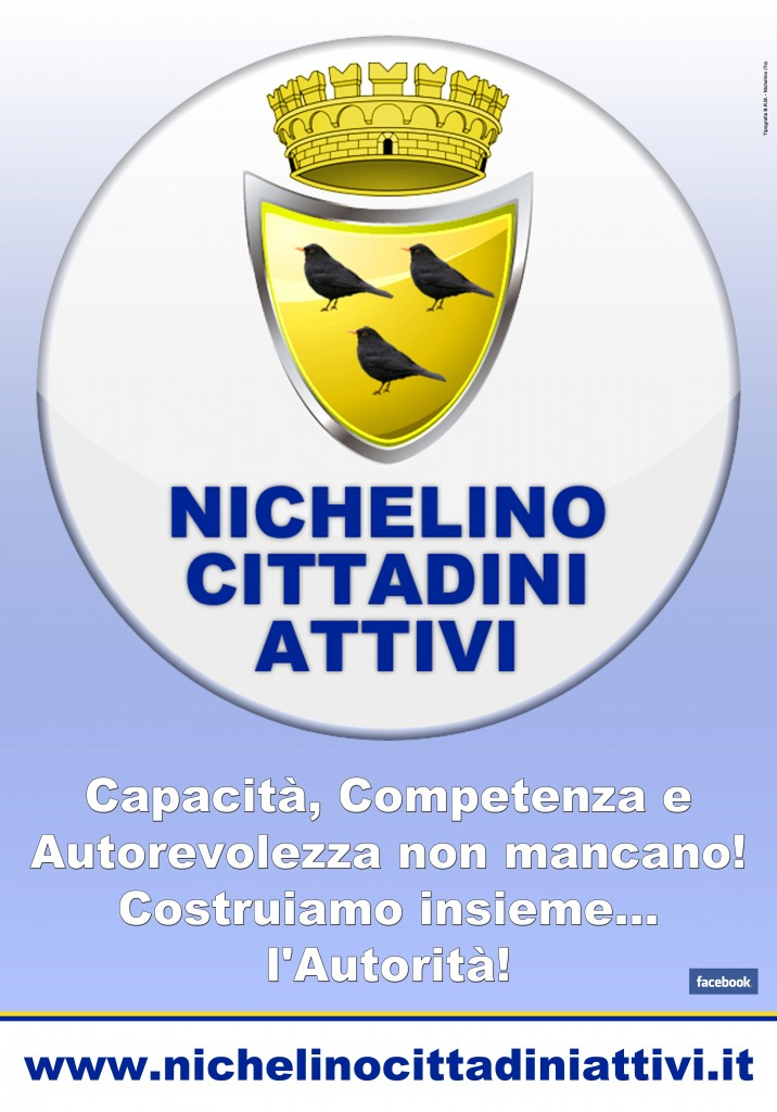 Manifesto NCA: Nichelino Cittadini Attivi