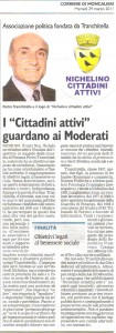 """Nichelino Cittadini Attivi - Rassegna Stampa """"Il Corriere di Moncalieri"""" del 11 Marzo 2011"""